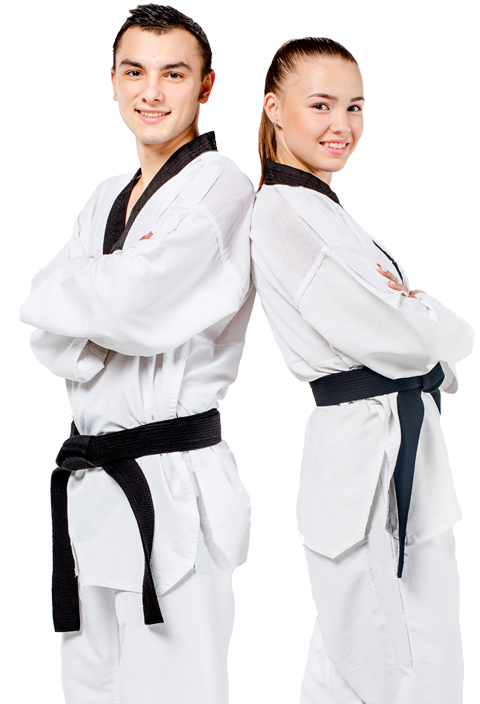 adult & Teen martial arts students