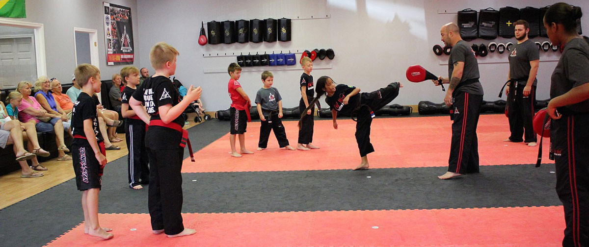 East West Martial Arts students